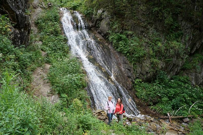 Водопад в Проходном