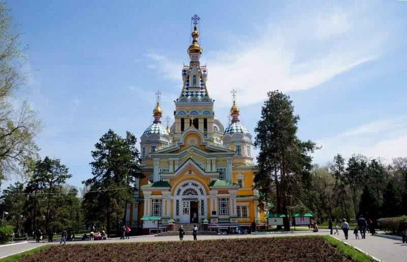 Вознесенский собор. Алматы