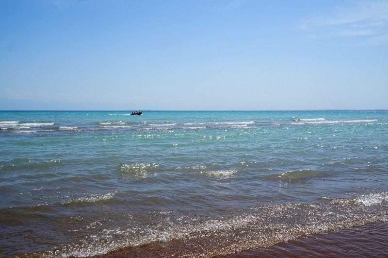 Настоящий пляж