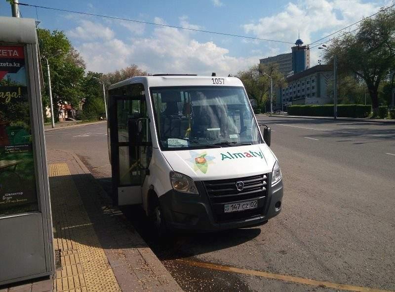 Автобус №209 до турбазы Алматау