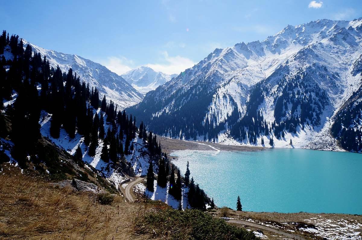 большое алматинское картинки открытых водах ближе