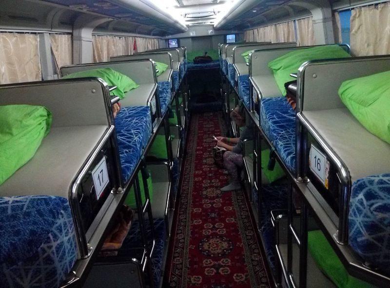 Автобус со спальными местами