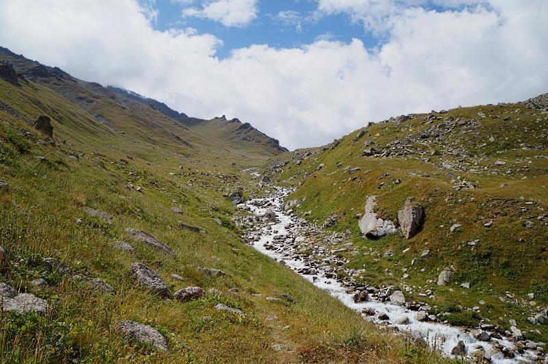 Альпийские луга в ущ. Проходное
