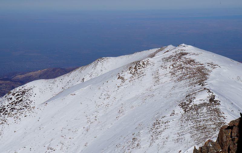 Вид с Чимбулачки на Фурмановку, Панораму и Башуту