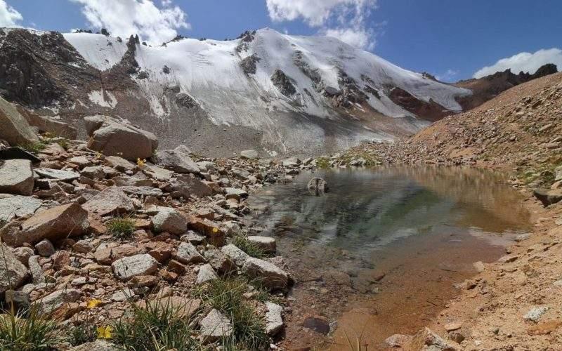 Моренные озера ледника Молодежный