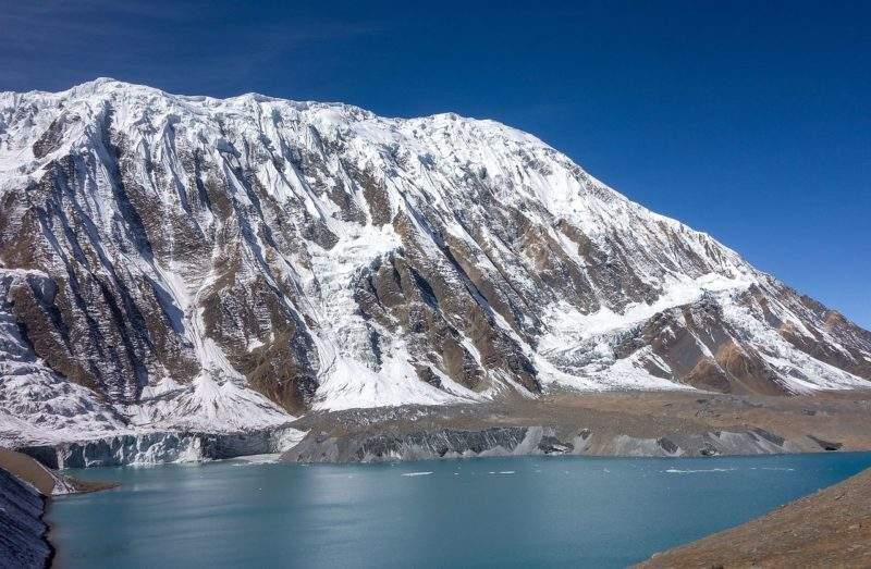 Опасная тропа к озеру Тиличо