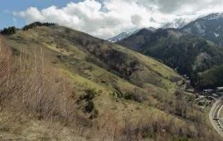 Гора Серкебай 2170 м