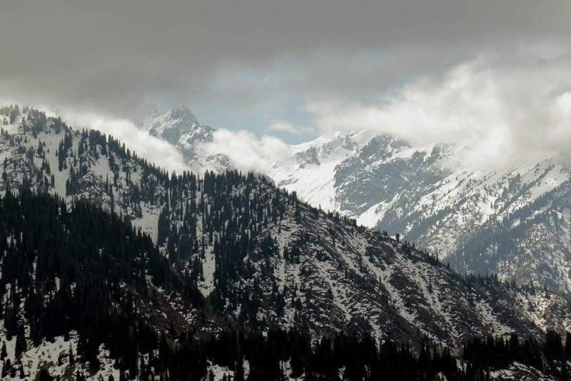Вид с горы Серкебай