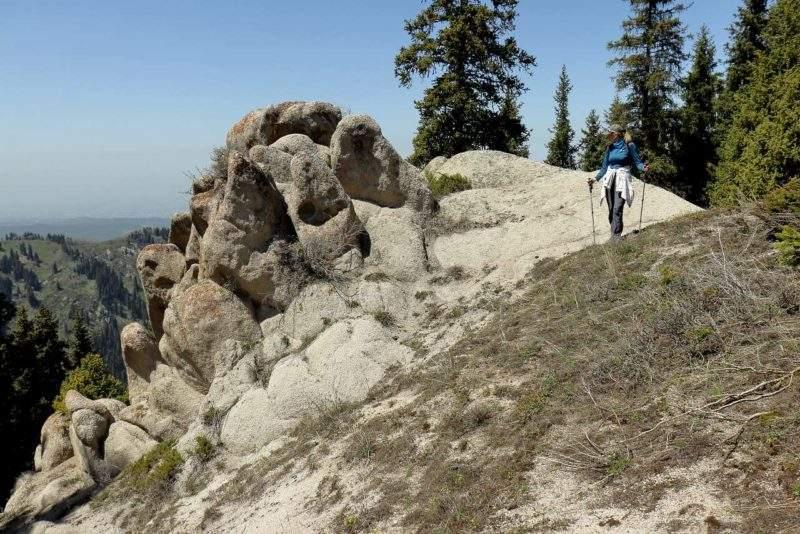 Плато Актас - Сад камней
