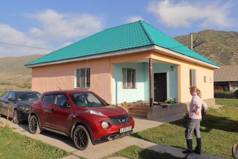 Гостевой дом со всеми удобствами в поселке Саты
