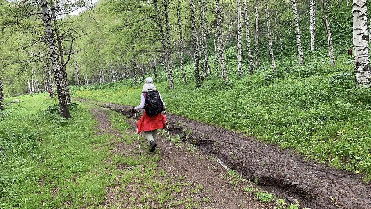 В Бутаковском ущелье весной