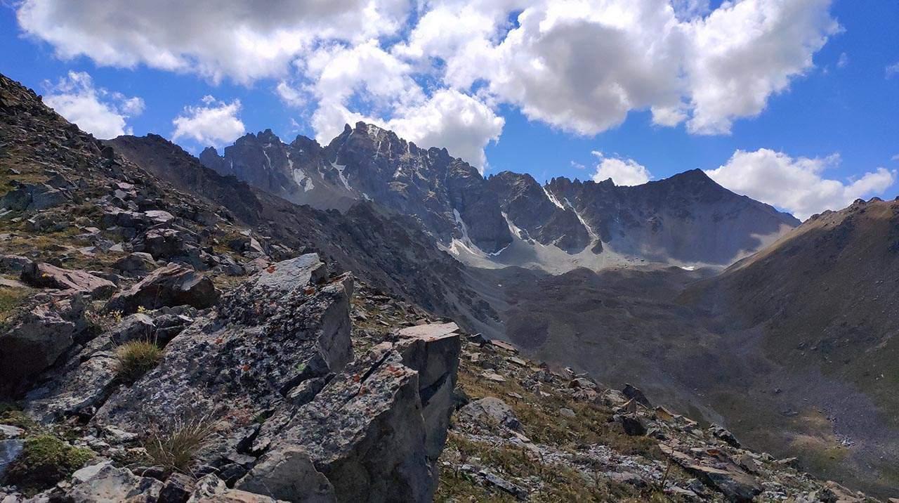 Пик Иссык-Баш 3917 м