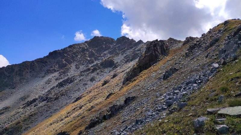 Гора Емшек 3453 м