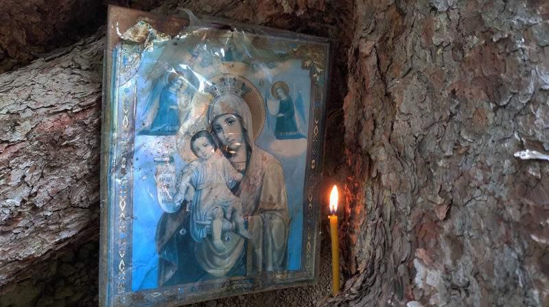 Подземная церковь на Медео